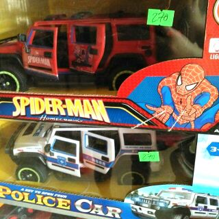 Siêu xe spider_man, poiice car