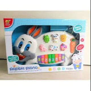Đồ chơi đàn hình con thỏ có nhạc