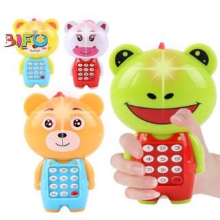 Đồ chơi điện thoại di động hình động vật phát nhạc đáng yêu cho bé thumbnail
