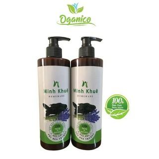 Dầu gội thảo dược thiên nhiên bồ kết bưởi cô đặc organic handmade dưỡng ngăn ngừa rụng tóc BKMK