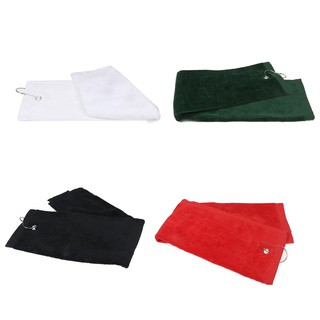 ☀1pcs Golf towel sports towel fitness towel with hook