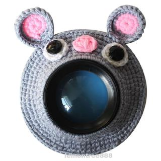 Child Cute Animal Handmade Kid Knitted Lens Accessory Photography Props Posing Teaser Toy Camera Buddies