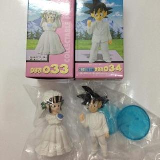 01 Bộ fig Songoku và Chichi cưới