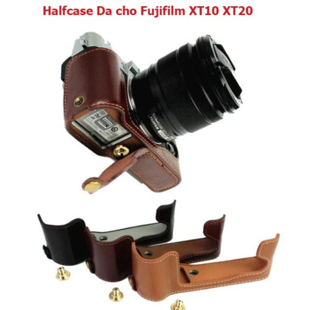 Halfcase Da Máy ảnh Fujifilm XT30, XT20, XT10