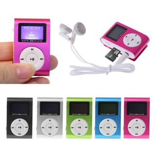 Máy nghe nhạc MP3 mini bằng kim loại hỗ trợ thẻ nhớ 32GB Micro SD TF thumbnail