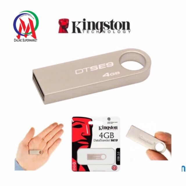 Usb kington 4gb se9