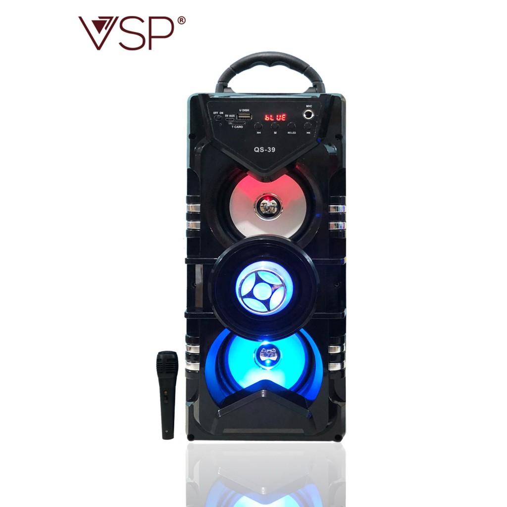 Loa bluetooth nghe nhạc - karaoke kèm miro QS-39 @homeshopping24h@ - 9994966 , 795348063 , 322_795348063 , 472000 , Loa-bluetooth-nghe-nhac-karaoke-kem-miro-QS-39-homeshopping24h-322_795348063 , shopee.vn , Loa bluetooth nghe nhạc - karaoke kèm miro QS-39 @homeshopping24h@