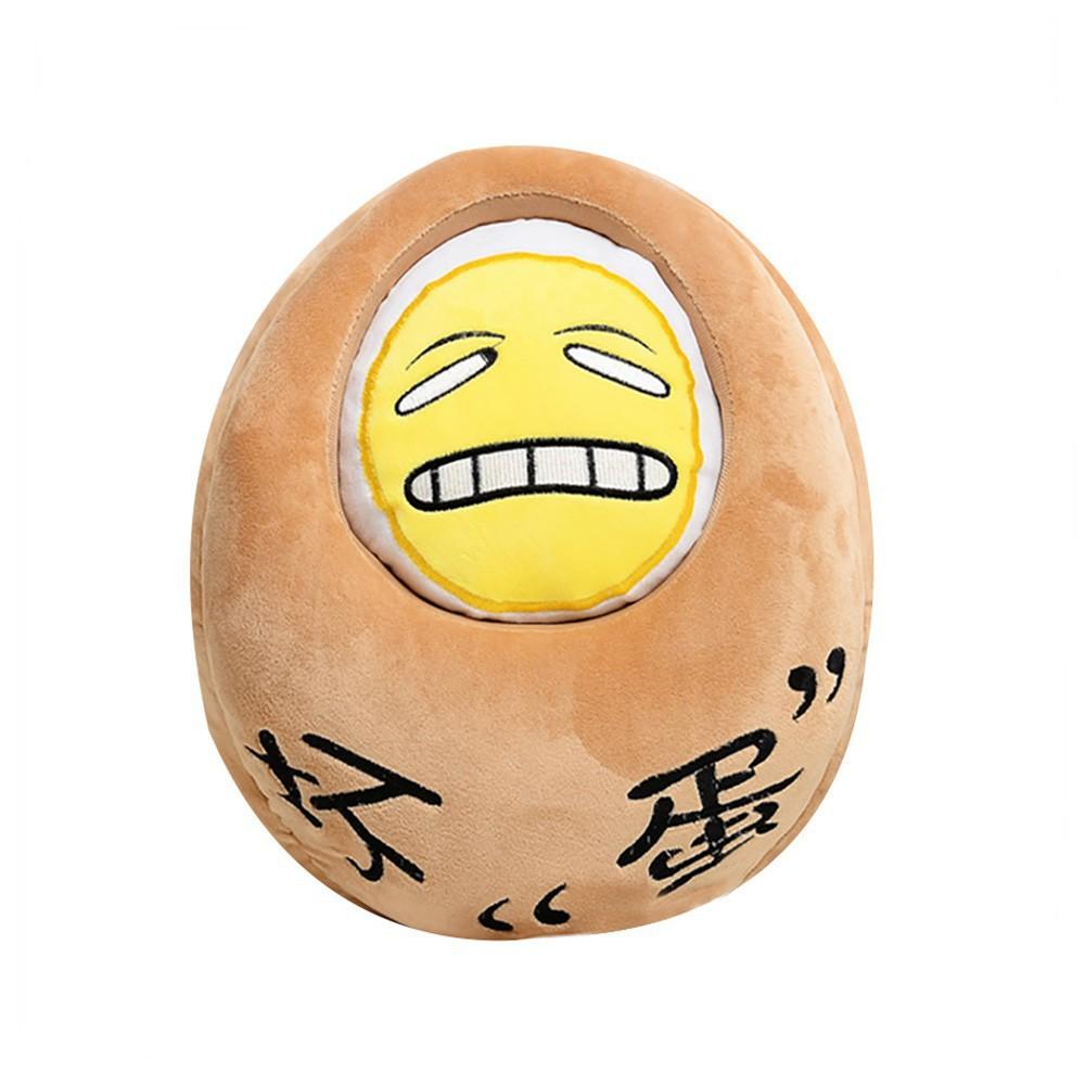 Thú nhồi bông hình quả trứng đáng yêu làm quà tặng sinh nhật cho bé ô tô ke