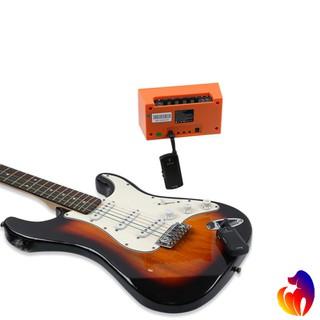 Meideal 2.4G Wireless Guitar Transmitter Receiver Rechargeable Digital
