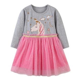 Váy AOSTA BETTY ngựa pony ren hồng