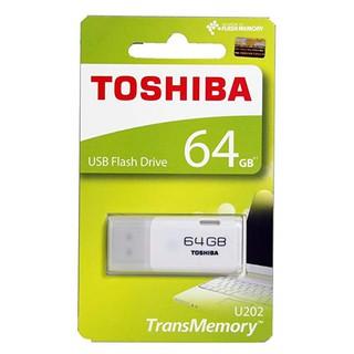 [Mã ELFLASH5 giảm 20K đơn 50K] USB Toshiba 64GB USB 2.0 TransMemory - Hàng chính hãng Bảo hành 24 tháng