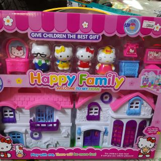 Hộp đồ chơi nhà kitty