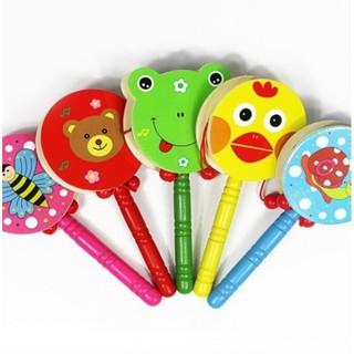 [FLASHSALE] đồ chơi đáng yêu cho bé – ĐỒ CHƠI GỖ CHO BÉ DẠNG TRỐNG | Toàn Quốc
