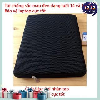 Túi chống sốc Laptop 14 inch – 15,6 inch – Màu đen – Cực tiện lợi