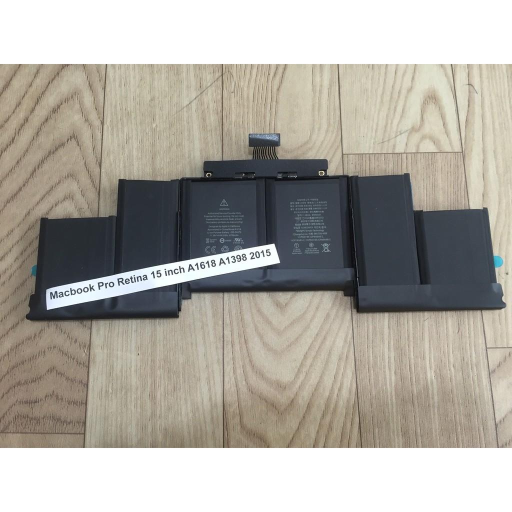 Pin Macbook Pro Retina 15 inch A1618 A1398 2015 Hàng NEW ZIN