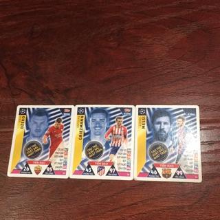 Thẻ bài poca bộ ba cầu thủ xuất sắc nhất trận