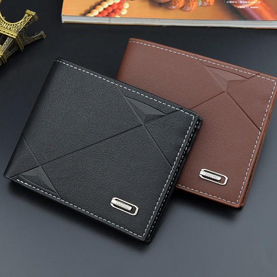 Ví nam đẹp kiểu ví ngang Hàn Quốc nhiều ngăn có ngăn kéo  MSP 3088-1