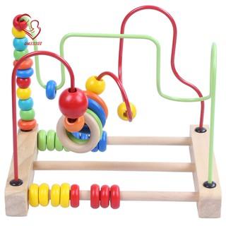 Wood spiral abacus