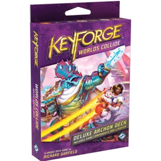 Bộ bài Keyforge Worlds Collide