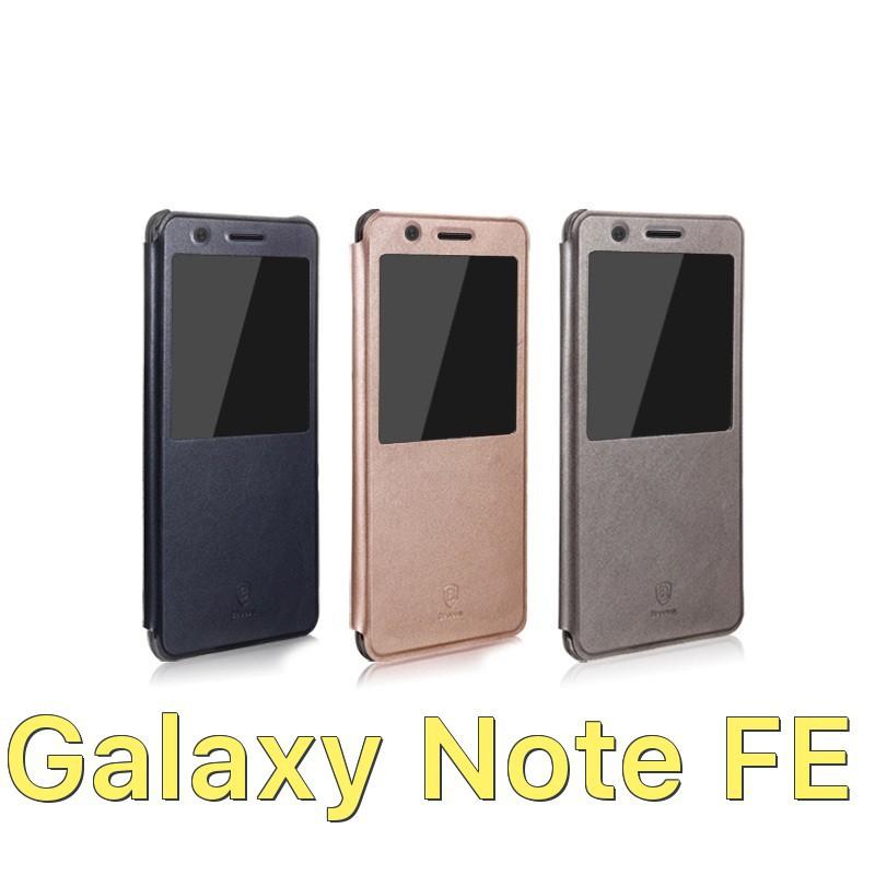 Bao da Baseus dòng doanh nhân hở màn hình cho Samsung Galaxy Note FE