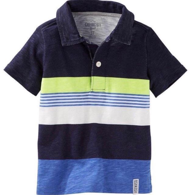[Hàng sale] áo polo osh dư xịn kẻ ngang size:18m