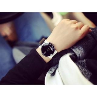 Đồng hồ nam - nữ dây da tổng hợp chính hãng WMG WMG001