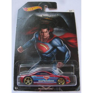 Xe Hot Wheels Batman v Superman Muscle Tone DJL54