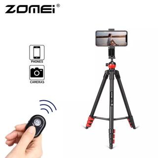 Giá đỡ ba chân Zomei T60 kèm điều khiển từ xa và giá đỡ điện thoại thông minh thumbnail