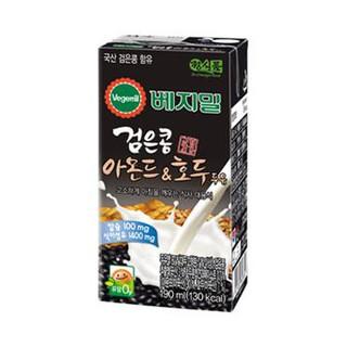 Sữa đậu đen, hạnh nhân và óc chó Vegemil hộp 190ml