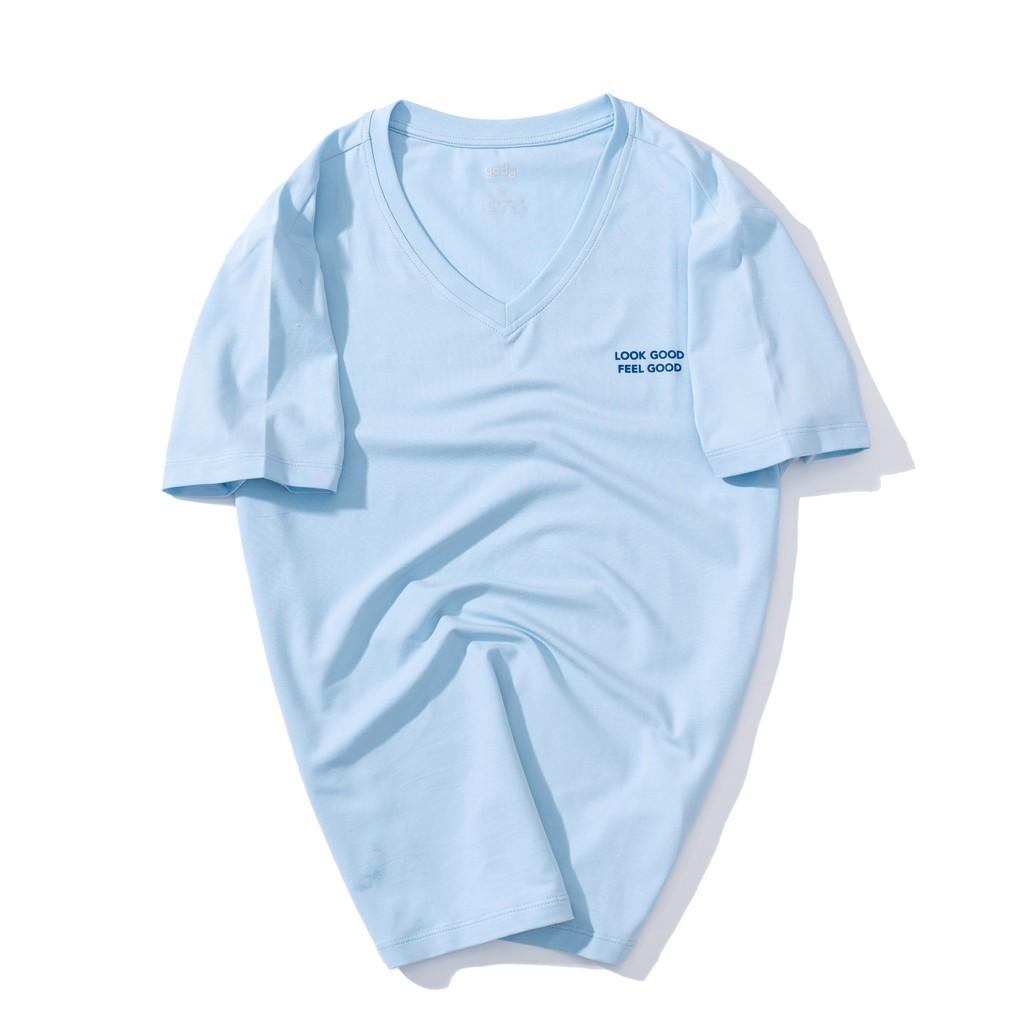 Áo phông nam Yody Cổ tim chất liệu Cotton mềm mịn PPM3997