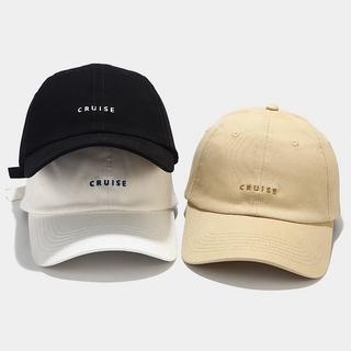 Hình ảnh LINJW 2021 New soft Fashion student adjustable cotton baseball cap-0