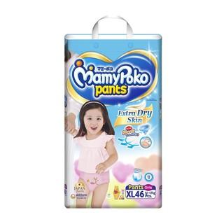 TÃ QUẦN MAMYPOKO XL46 miếng ( bé gái) date 2023