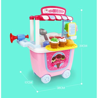 Bộ đồ chơi xe đẩy trẻ em