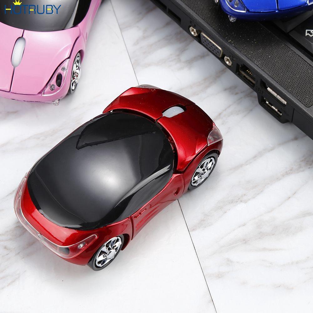 [Mã CBEL06 giảm 20% đơn 50k] Chuột không dây 2.4GHz hình xe hơi độc đáo chuyên dụng cho máy tính laptop