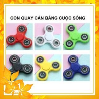 (RẺ VÔ ĐỐI) Đồ Chơi Con Quay Giúp Xả Stress Fidget Spinner (nhiều màu giao ngẫu nhiên)