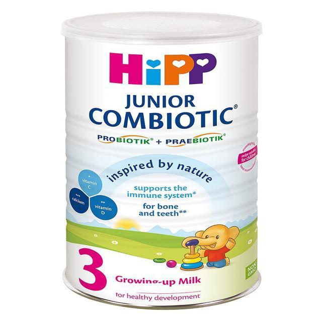 Sữa bột siêu sạch HiPP 3 Combiotic Growing-up 800g