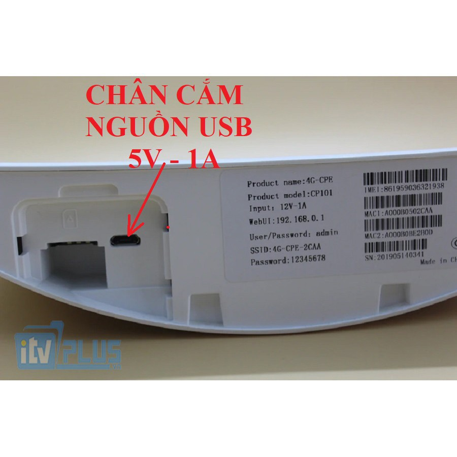 BỘ PHÁT WIFI 3G/4G CPE101, ZTE MF253S - CÓ CỔNG LAN - DÙNG CHO VĂN PHÒNG, XE KHÁCH, LẮP CAMERA CHUYÊN DỤNG