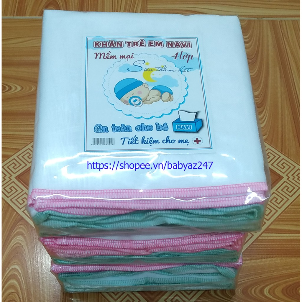 Khăn sữa 4 lớp siêu mềm mại (gói 10 chiếc) - 22487411 , 3303854244 , 322_3303854244 , 36000 , Khan-sua-4-lop-sieu-mem-mai-goi-10-chiec-322_3303854244 , shopee.vn , Khăn sữa 4 lớp siêu mềm mại (gói 10 chiếc)