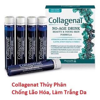 (Chính Hãng) Nước Uống Trắng Da Collagen Collagenat Thuỷ Phân Chống Lão Hóa Làm Sáng Da - Hộp 10 lọ thumbnail