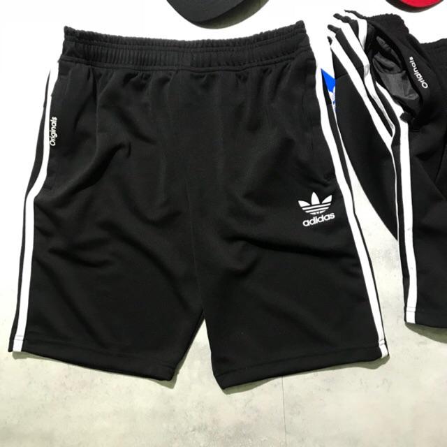 Quần short nam thể thao Adidas Originals (chất dù, ba túi khoá kéo)