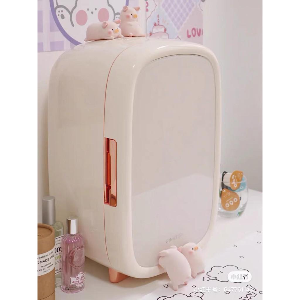 Beauty Fridge tủ lạnh bảo quản mỹ phẩm PINKTOP 12L - 2021 - CHÍNH HÃNG - PKT12