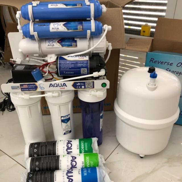 Máy lọc nước sạch để uống trực tiếp Aqua hàng xịn có nhãn mác bao bì chất lượng.