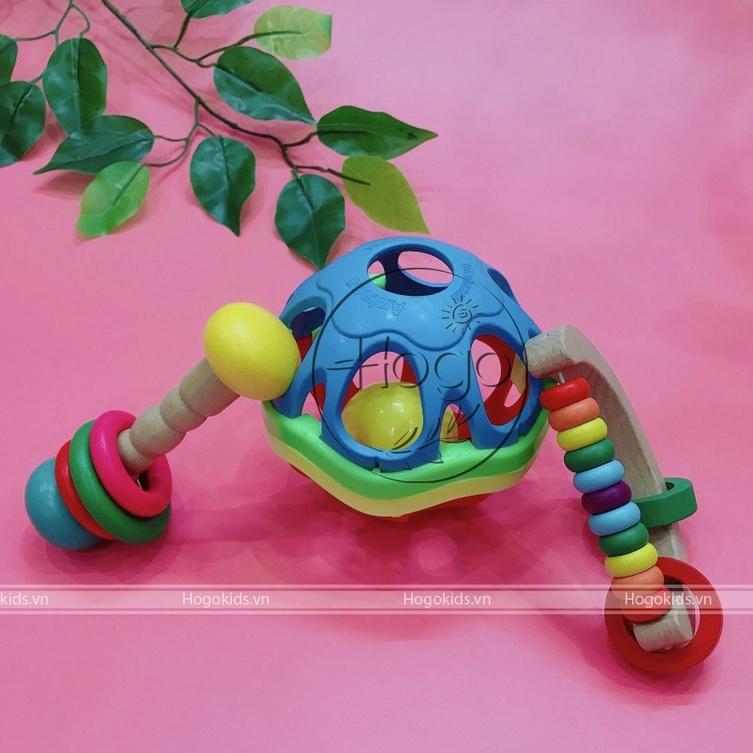 Xúc xắc bóng mềm luyện cầm nắm phát triển giác quan vận động cho bé sơ sinh