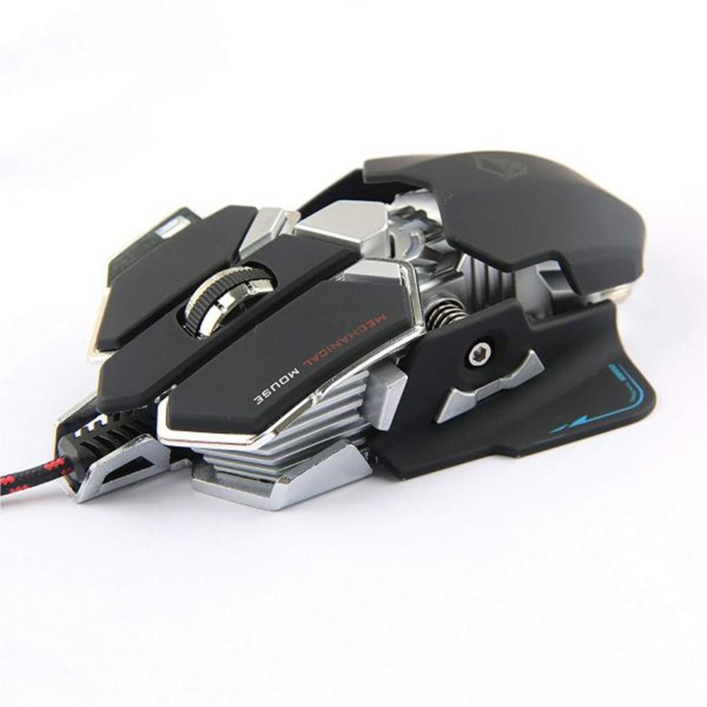 Chuột cơ Gaming Meetion MT990 - Bảo hành 24 tháng - Hàng siêu cấp - Độ bền cực cao - Màu trắng và đen - Bảo hành 2 năm