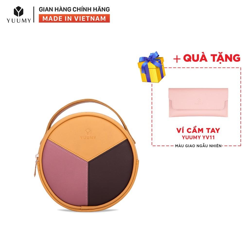 Túi đeo chéo thời trang nữ YUUMY YN45 nhiều màu (Tặng ví cầm tay YV11)