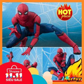 Mô Hình Người Nhện Spider-Man Homecoming Có Khớp Cử Động SHF – S.H. Figuarts Full Box
