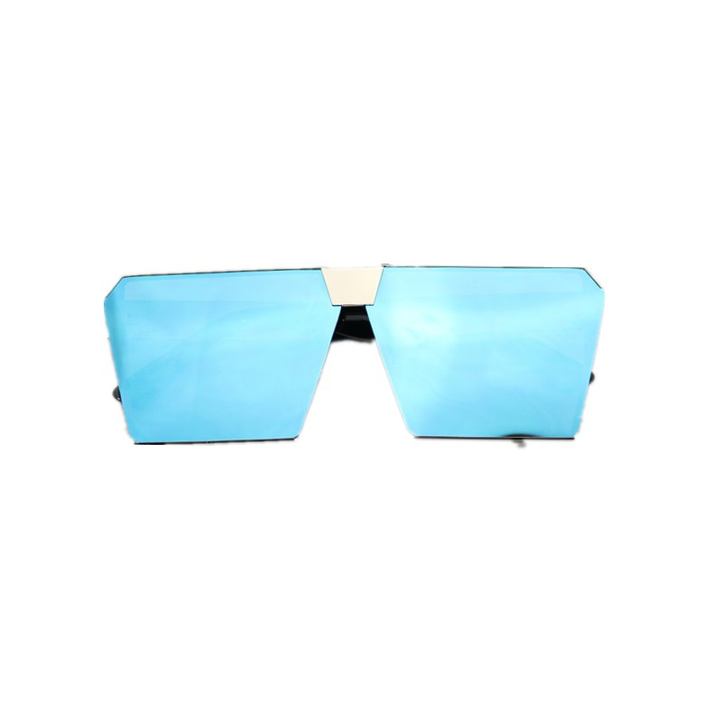 New Korean Version Of The Sunglasses Hairstyle Fast Net Red Square Glasses Female Slimming Color Polarized Sunglasses Ma