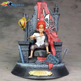 [TẶNG MÓC KHÓA] One Piece: Shanks on the throne