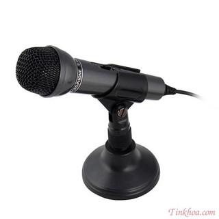 [Mã ELFLASH5 giảm 20K đơn 50K] Microphone Senicc SM-098.Micro cho máy tính zac 3.5 tự nhận SM098