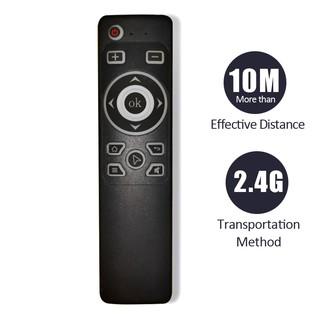 Remote tivi, chuột bay dùng cho tivi android và tivi box, kết nối wireless 2.4 GHZ, giá siêu rẻ, bảo hành 12 tháng MT3
